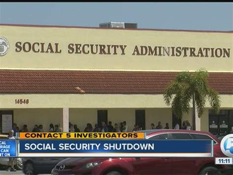 Social Security Office West Palm Fl by West Palm Social Security Office Shuts