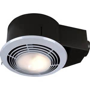 fan light combo bathroom nutone 100 cfm ceiling exhaust fan with light and heater