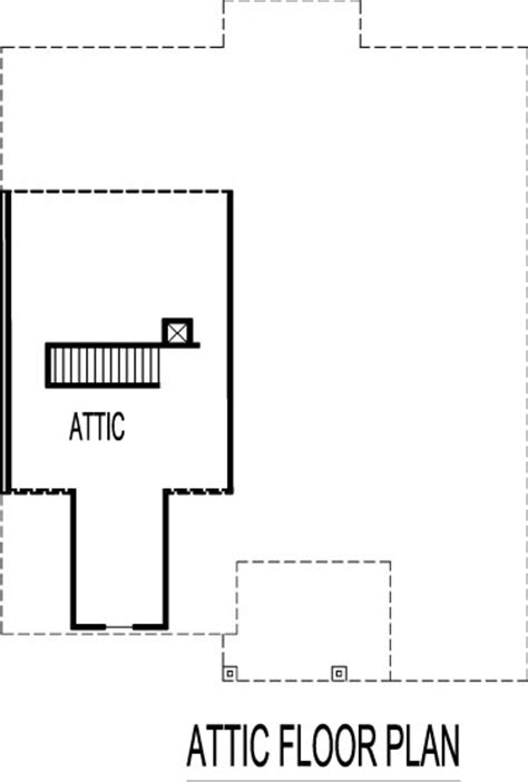 attic floor plan house floor plans with attic house design plans