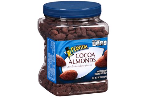 planters cocoa almonds 37 oz kraft recipes