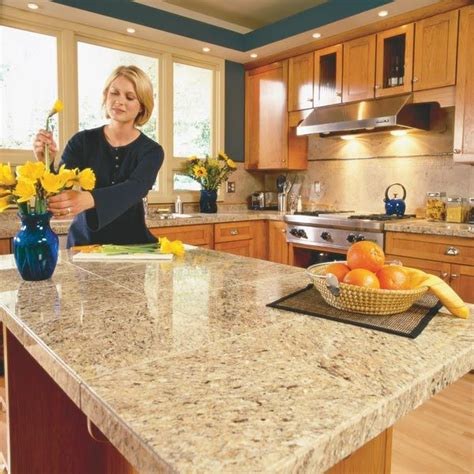 Diy Solid Surface Countertops by Best 25 Painting Tile Countertops Ideas On