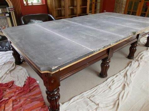 slate pool table vs non slate how is the slate on a professional grade pool table