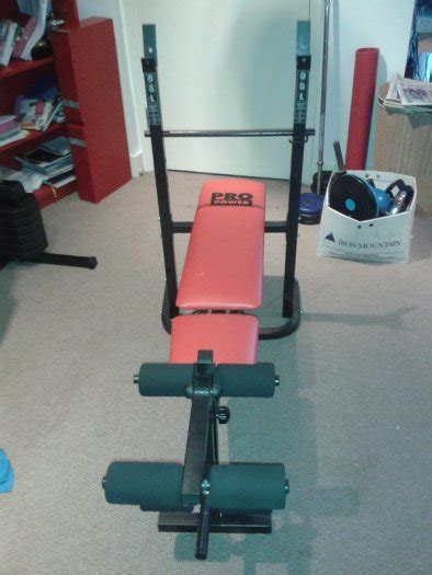 pro power bench pro power workout bench brand new for sale in finglas