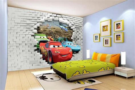 Wallpaper Kids Bedrooms Popular 3d Car Wallpapers Buy Cheap 3d Car Wallpapers Lots