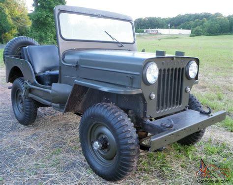 1962 Willys Jeep 1962 Willys Cj3b Jeep
