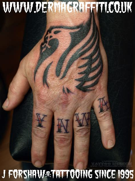 ynwa tattoo designs pin by smith on liverpool fc