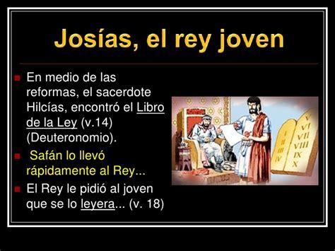 libro la joven de las serm 243 n josias el ni 241 o rey