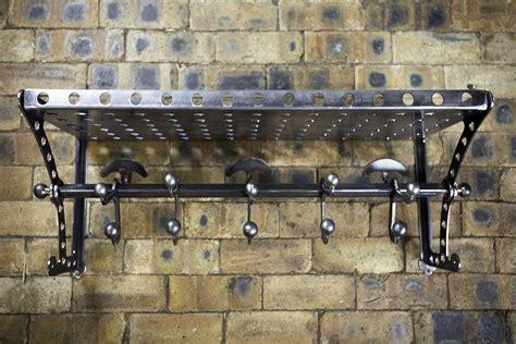 Hook Rail With Shelf by Rail Shelf And Hooks Adrian Bespoke Beds