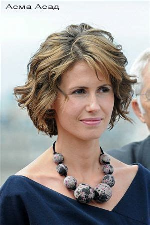 what short haircuts are called asma al assad called the most elegant world s first lady