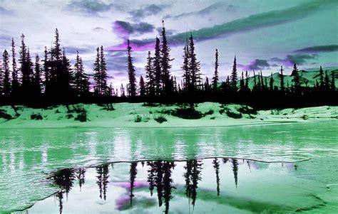 imagenes invierno fondo pantalla fondo escritorio paisaje lago de invierno