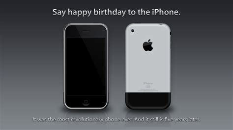 say happy birthday to the iphone by theintenseplayer on