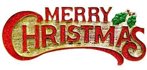 merry christmas log transparent background  png images