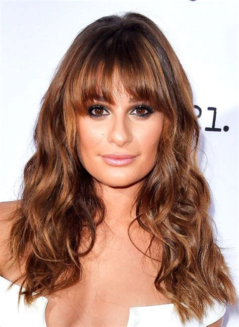 fall 2014 hair color lea michele from fall 2014 hair color inspiration e news