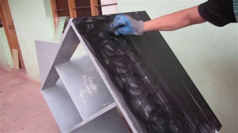 pintando mueble color negro en aglomerado facil youtube