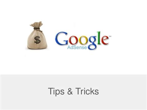 adsense tricks google adsense tips tricks