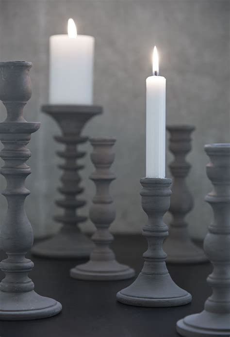 Grey Candlestick Holders by Best 25 Grey Candles Ideas On Grey Candle