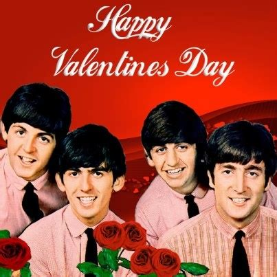 the beatles valentines happy day 2013 beatles card beatles