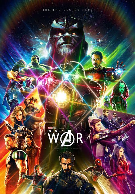 Marvel Sticker Book Vs Hulkbuster Soft Cover infinity war fan made poster assembles earth s mightiest heroes nerdist