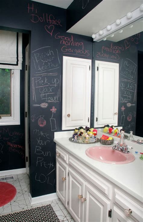 chalkboard paint ideas for bathroom how to creatively use chalkboard paint around the house