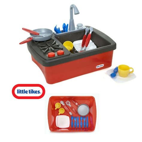 Tikes Splish Splash Sink Stove Accessories