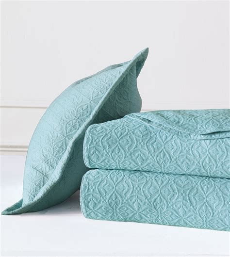 aqua coverlet luxury bedding by eastern accents mea matelasse collection