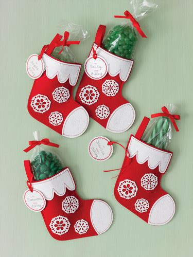 martha stewart crafts christmas felt treat bags