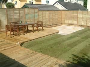 Decking Ideas Small Gardens Decking Ideas For Small Gardens 2015 New