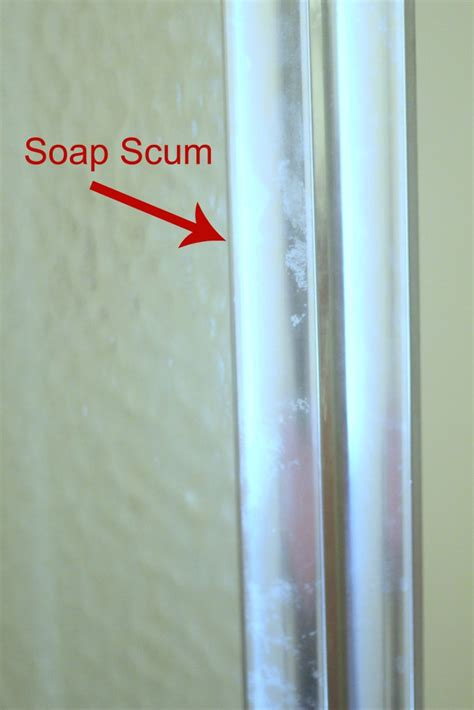 Step Up Your Bathroom Upkeep With This Complete Diy Scrub Soap Scum On Shower Doors