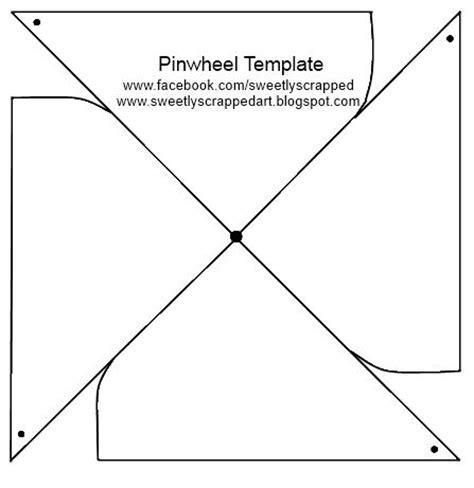 turn wheel card template make your own pinwheels diy template pin wheels