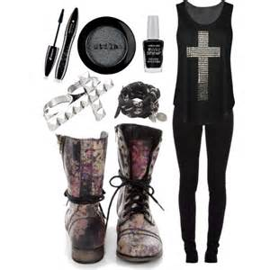 Tops military boots and skull jewelry browse and shop related looks