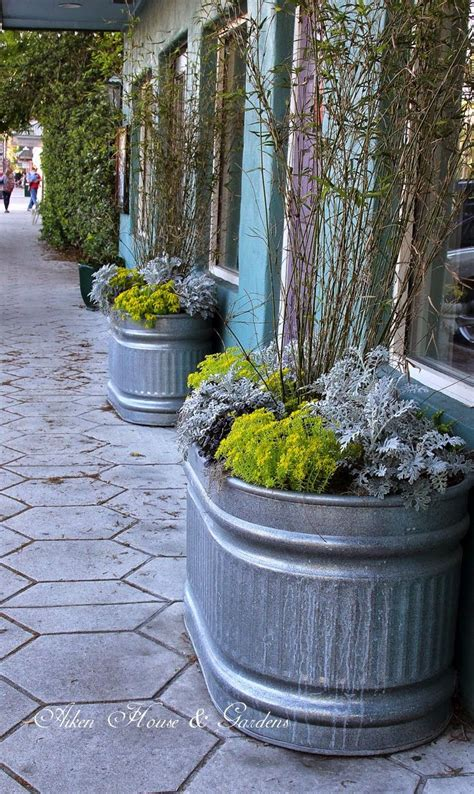 Planters Ideas by 17 Best Ideas About Trough Planters On