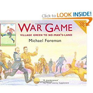 libro war game village green war game village green to no man s land michael foreman 9781843650898 amazon com books