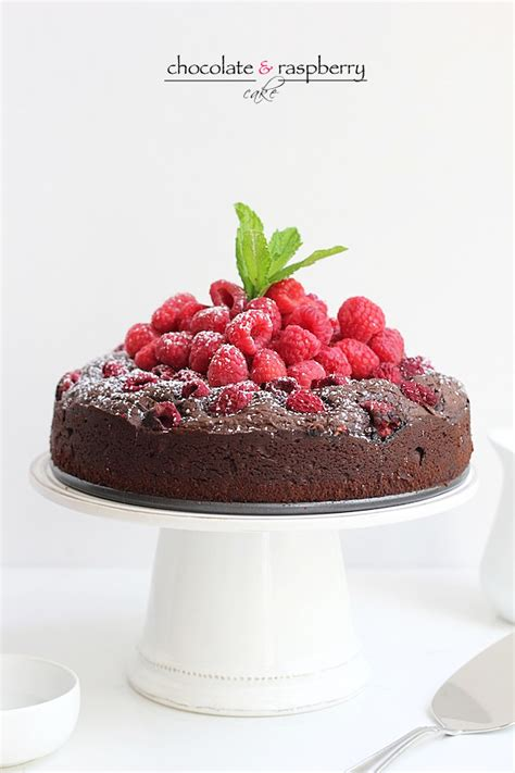 savor home chocolate raspberry cake