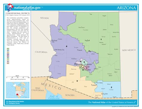 map of arizona us congressional districts arizona congressional districts map see us house