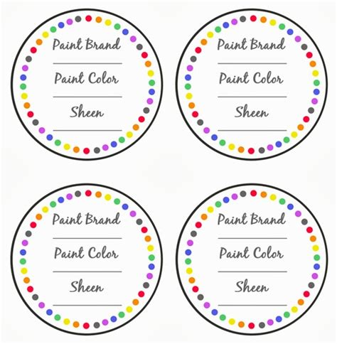 printable record labels paint can label template printable label templates