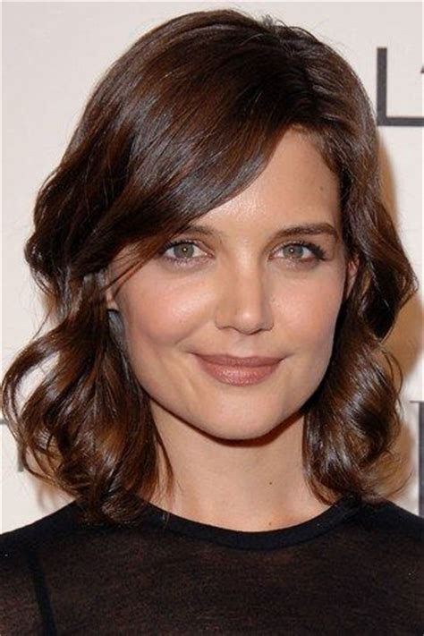 katie holmes revisits her lob 1029 best images about katie holmes on pinterest
