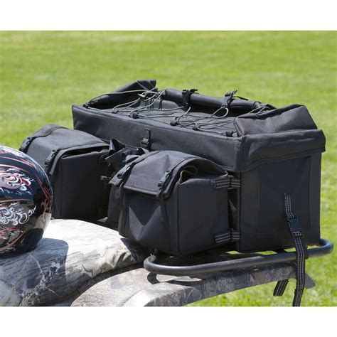 rear atv bags black and camouflage discount rs