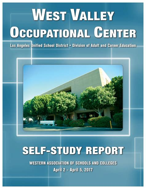 West Valley Center Detox by West Valley Occupational Center Wasc 2017 By Q Press Issuu