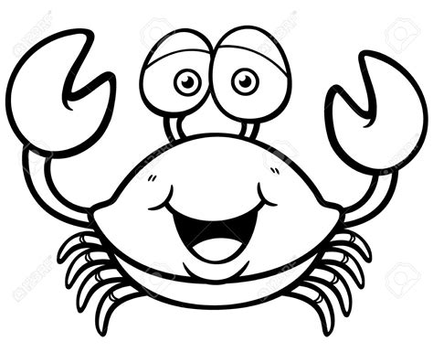 cute crab coloring pages water animal crab coloring pages womanmate com