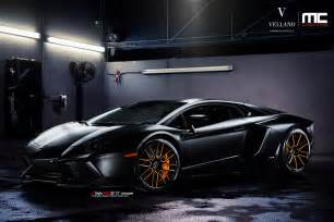 Lamborghini Aventador Rims Lamborghini Aventador On Vellano Wheels