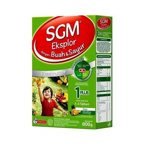 Sgm Eksplor 1 Plus 900gr Rasa Vanilla sgm eksplor 1 buah sayur formula 800g formula