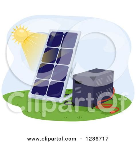 royalty free solar panel clip art vector images clipart of a street scene of buildigns with solar panels