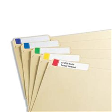 post it file folder labels template removable