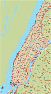 Zip Code Crg Manhattan Zip Code Map
