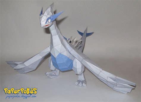 Origami Lugia - paperpok 233 s pok 233 mon papercraft lugia