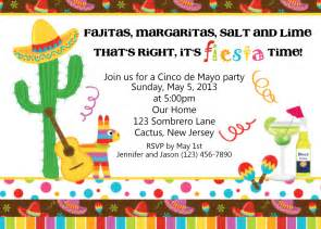 mexican themed party invitations cloudinvitation com
