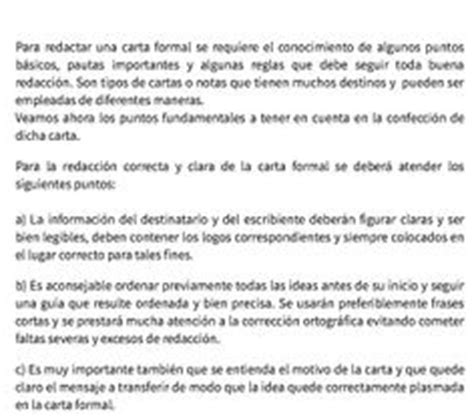 significado de carta formal e informal definicion carta formal e informal