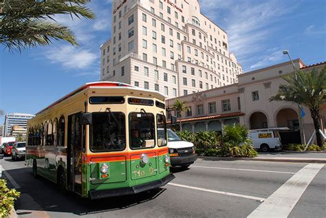 coral gables fan catch the coral gables trolley for no hassle