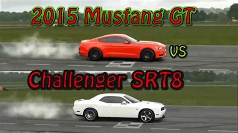 mustang gt vs challenger srt8 challenger srt8 vs mustang gt autos post