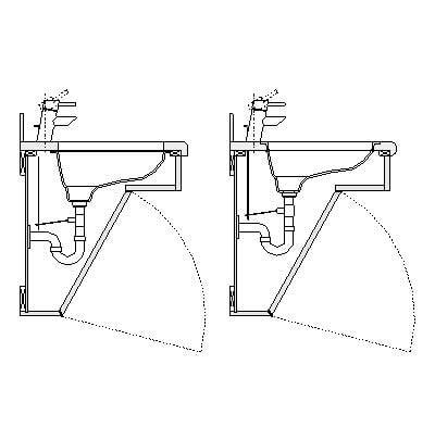 Kitchen Sink Base Cabinet Dimensions Building Rfa Detail Component Details